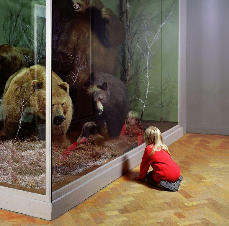 Girl with Bears, Royal Museum of Scotland, Edinburgh Wendy McMurdo